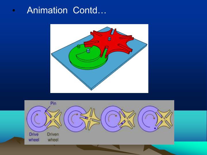 Animation  Contd…