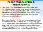pasar tenaga kerja di internasional
