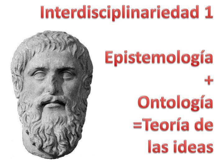 Interdisciplinariedad 1
