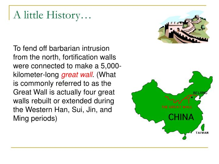 A little history1