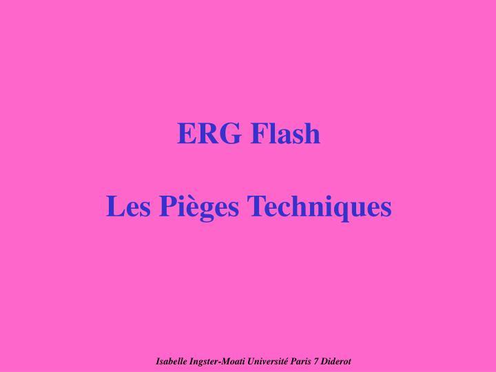 ERG Flash