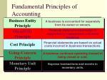 fundamental principles of accounting