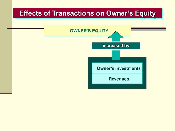 OWNER'S EQUITY