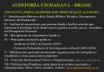 auditor a ciudadana brasil