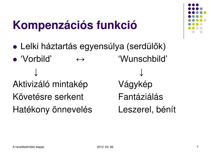 Kompenzációs funkció
