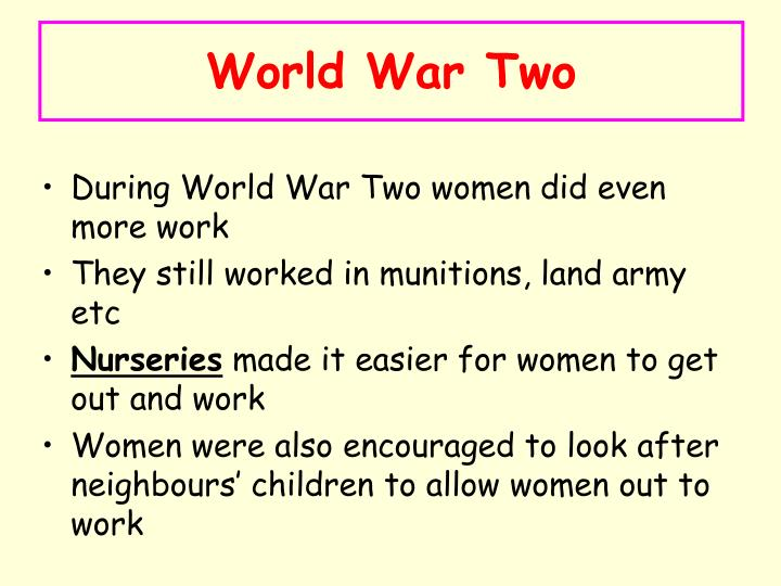 World War Two