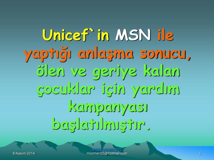 Unicef`in