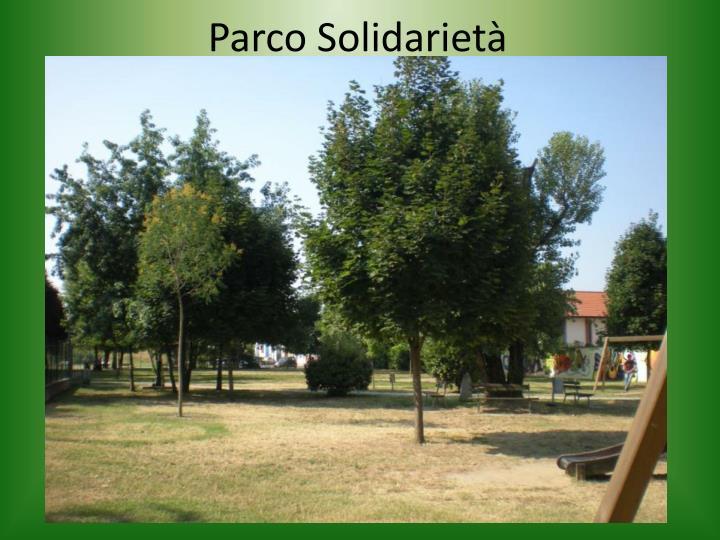 Parco Solidarietà