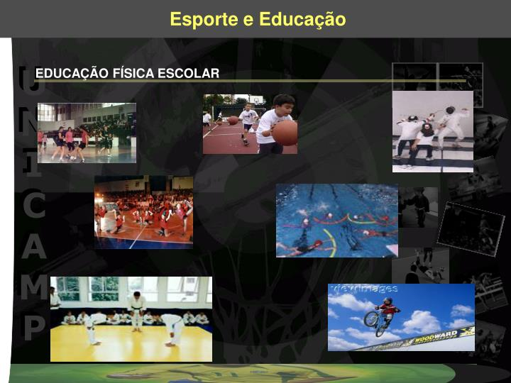 EDUCAÇÃO FÍSICA ESCOLAR