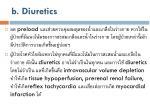 b diuretics
