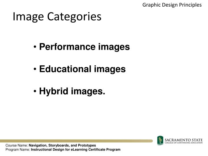 Image Categories