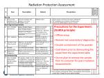 radiation protection assessment1