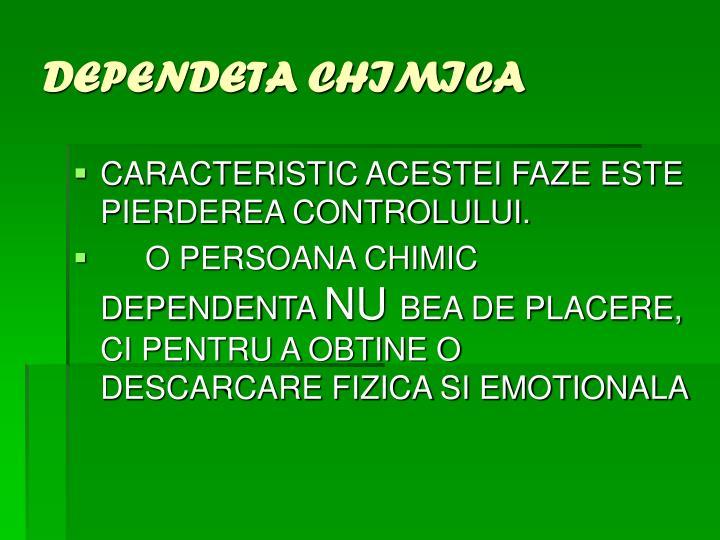 DEPENDETA CHIMICA