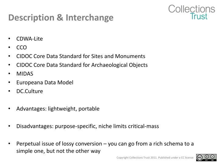 Description & Interchange