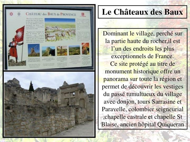 Le Châteaux des Baux