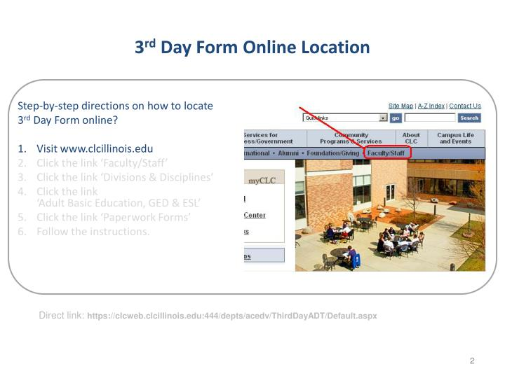3 rd day form online location1