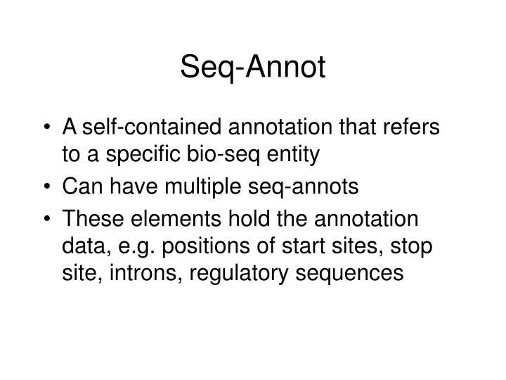Seq-Annot