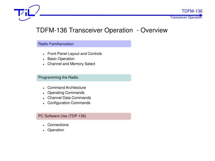TDFM-136