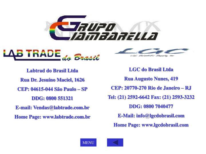 LGC do Brasil Ltda