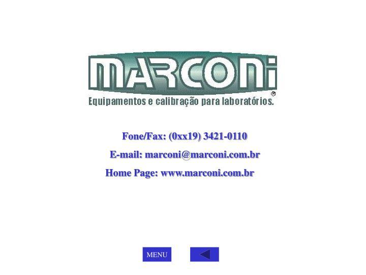 Fone/Fax: (0xx19) 3421-0110