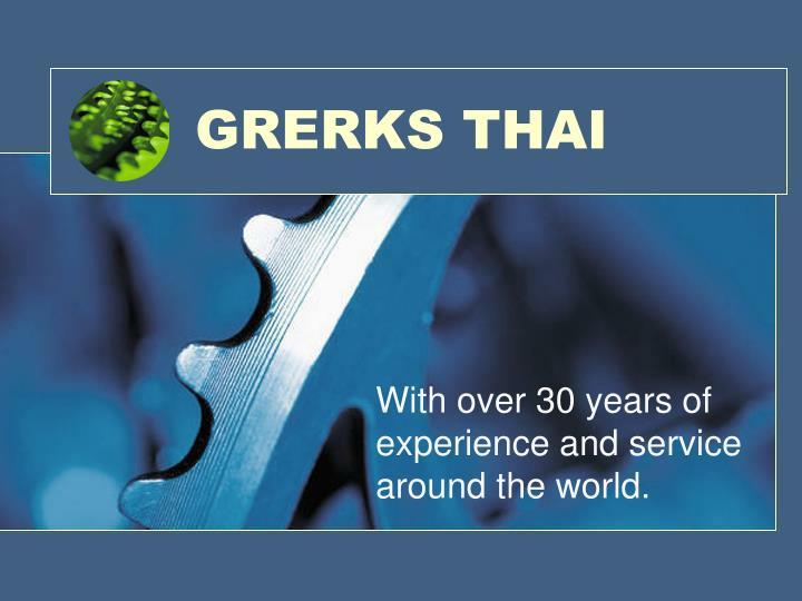 GRERKS THAI