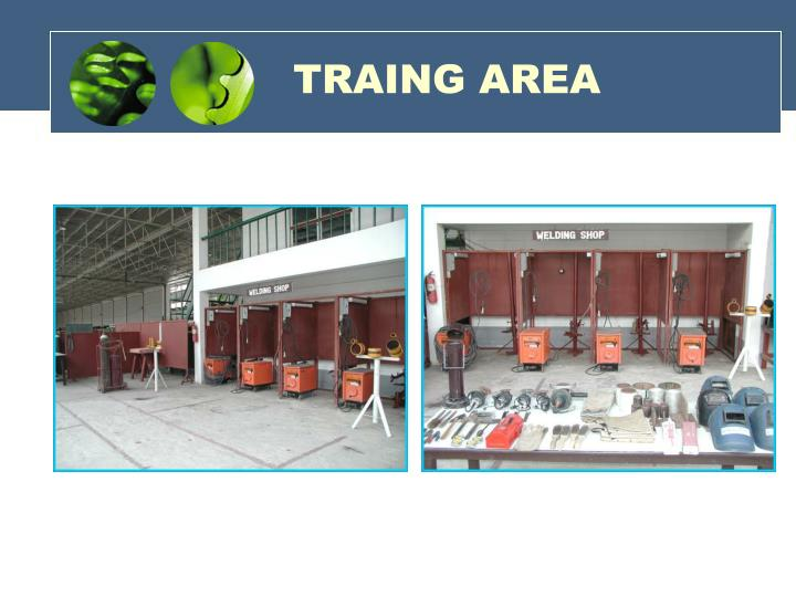 TRAING AREA