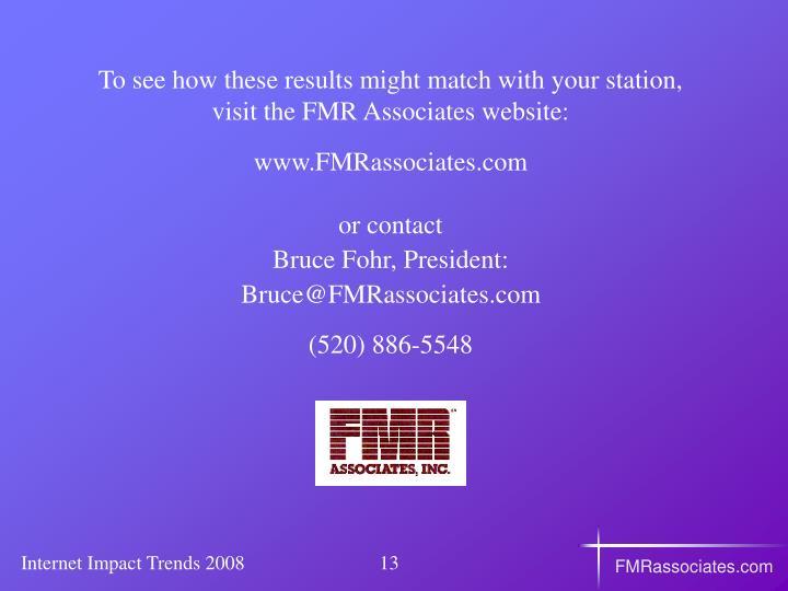 FMRassociates.com