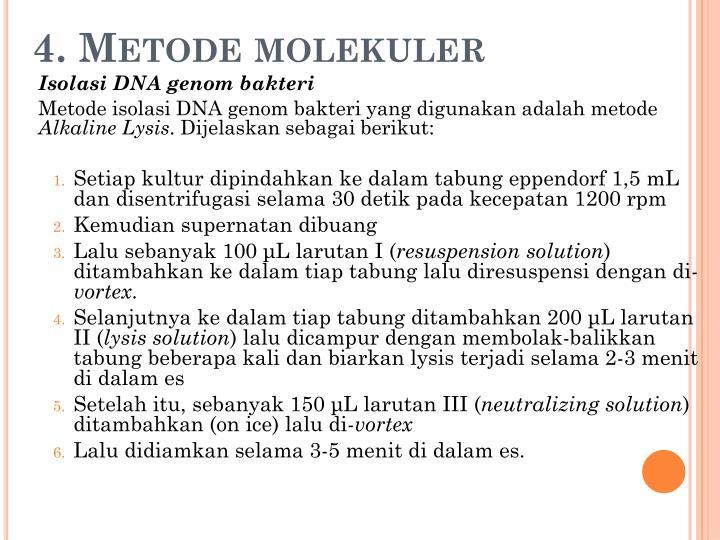 4. Metode