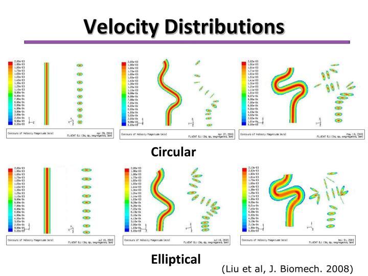 Velocity Distributions