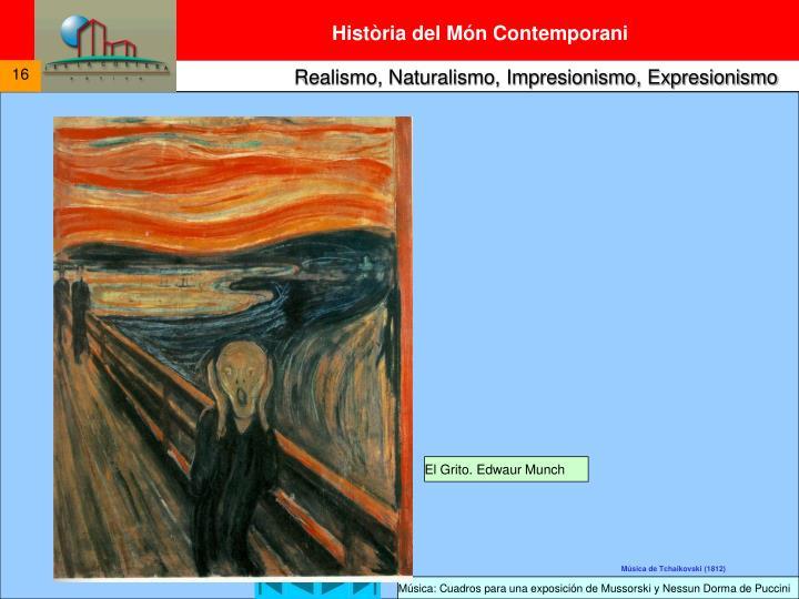El Grito. Edwaur Munch