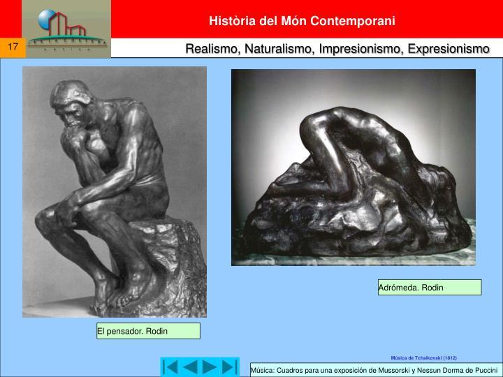 Adrómeda. Rodin