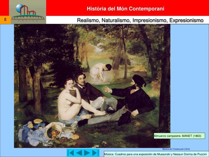 Almuerzo campestre. MANET (1863)