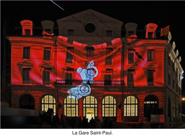 La Gare Saint-Paul.