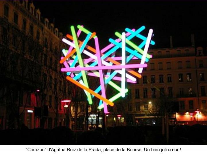 """Corazon"" d'Agatha Ruiz de la Prada, place de la Bourse. Un bien joli cœur !"