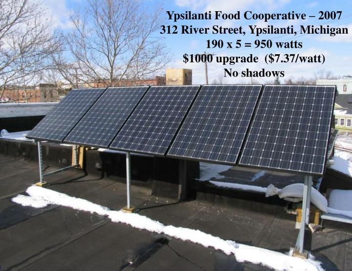 Ypsilanti Food Cooperative – 2007