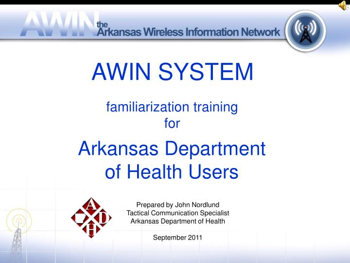 AWIN SYSTEM