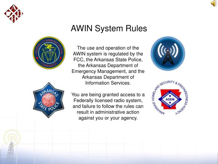 AWIN System Rules