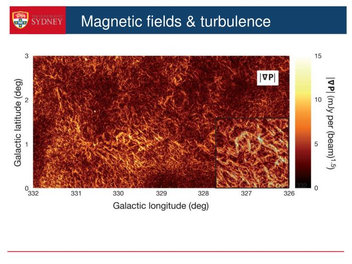 Magnetic fields & turbulence