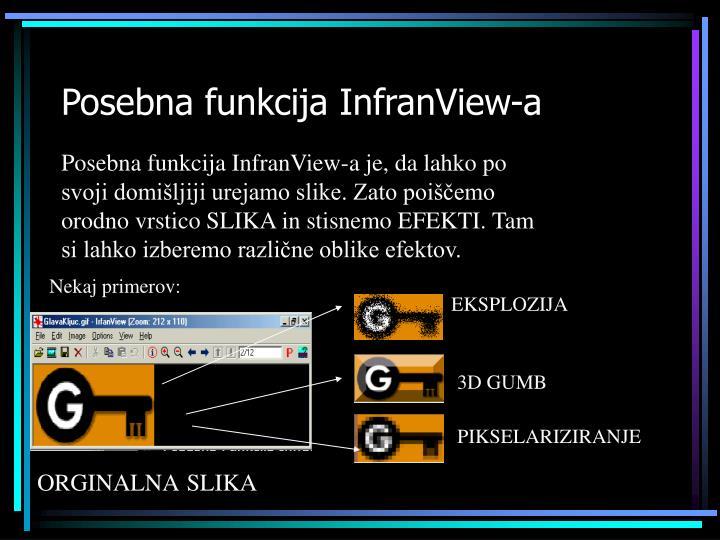 Posebna funkcija InfranView-a