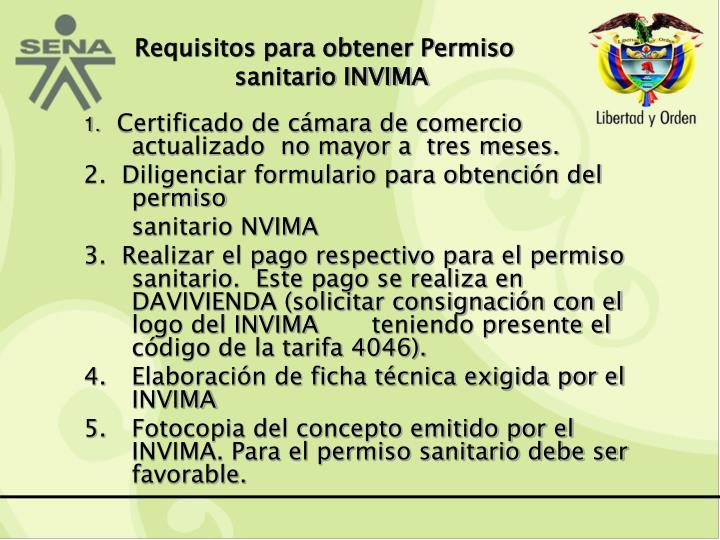 Requisitos para obtener Permiso