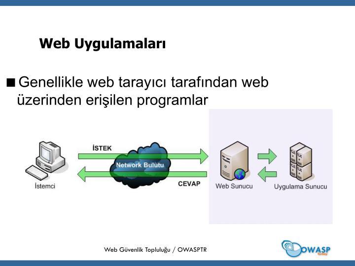 Web Uygulamaları