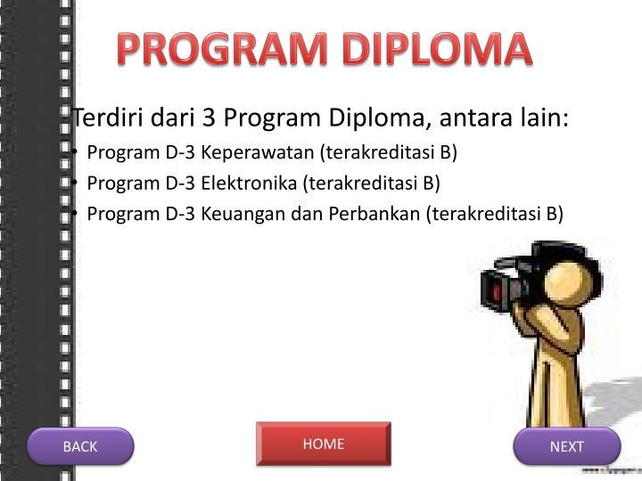 PROGRAM DIPLOMA