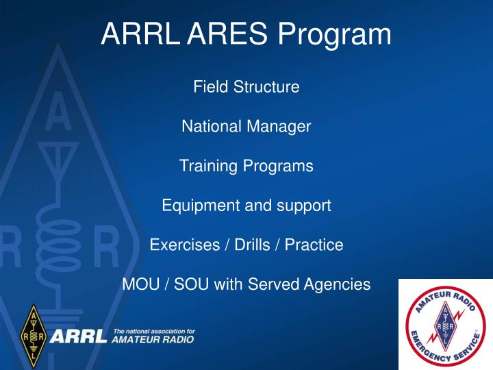 ARRL ARES Program