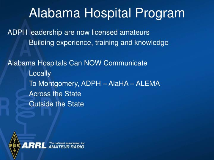 Alabama Hospital Program