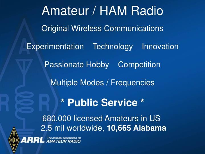 Amateur / HAM Radio
