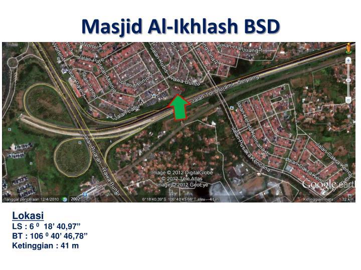 Masjid Al-Ikhlash BSD