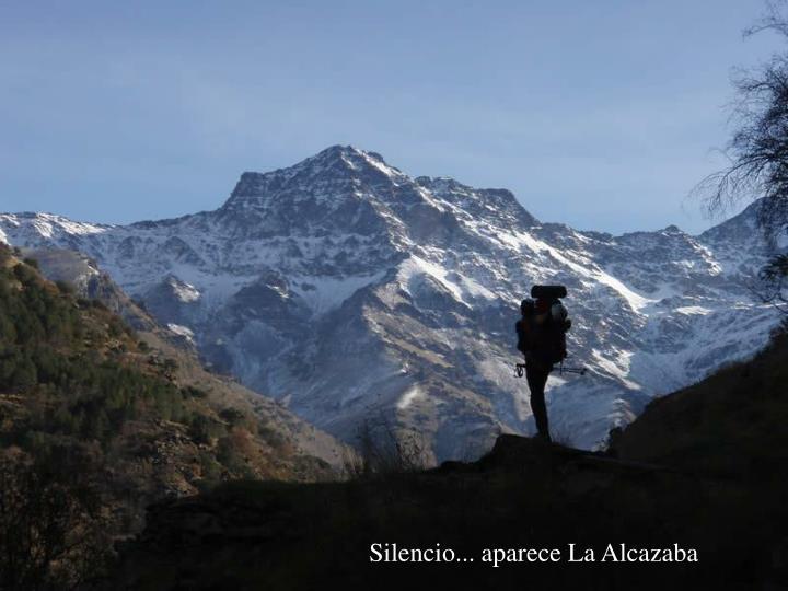 Silencio... aparece La Alcazaba