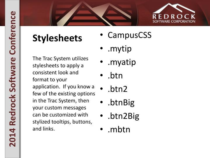 Stylesheets