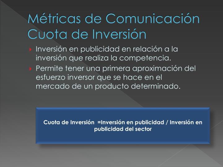Métricas de Comunicación