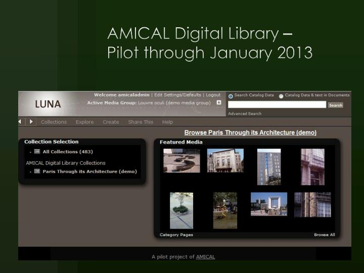 AMICAL Digital Library –